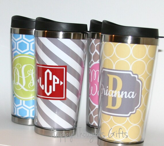 Coffee Tumbler Custom Personalized Coffee Tumbler