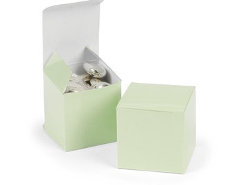Sage Green Favor boxes-12 EA.
