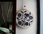 Modern Embroidery by Project Sarafan. Wall Hanging. Tree of Life Unique. custom order