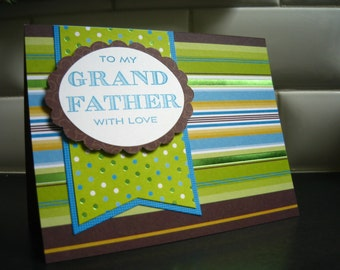 Birthday Card for Grandfather, Father's Day Card for Grandpa, Happy Father's Day Card for Granddad, Father's Day Gift