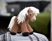Sally the amigurumi pony PATTERN / Horse Pattern / Amigurumi Horse / Crochet Horse Pattern / Amigurumi Pattern / Amigurumi Animal