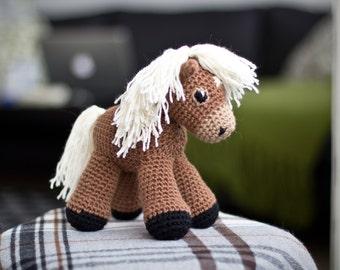 Amigurumi Pony Tutorial : Horse amigurumi Etsy