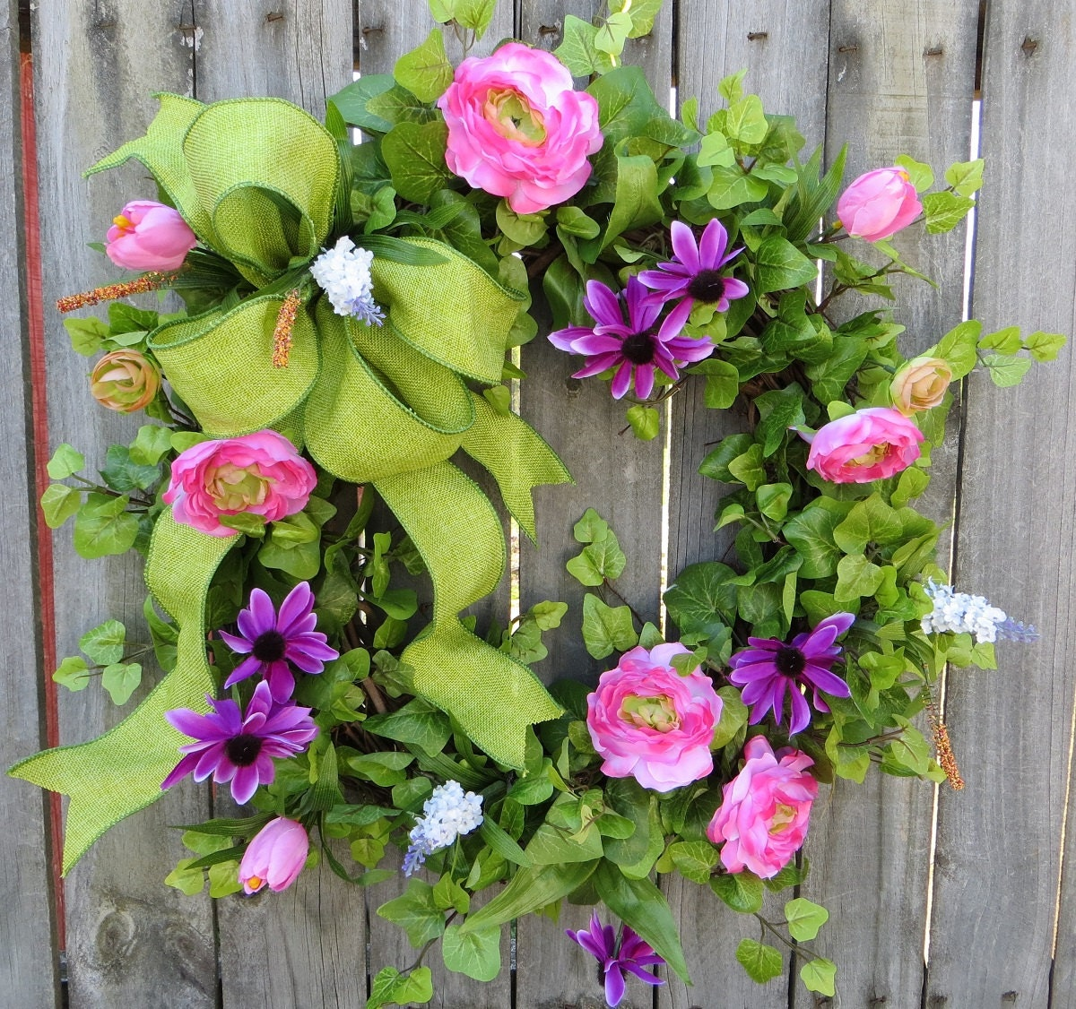 Spring Summer Door Wreath Spring Summer Door Wreath