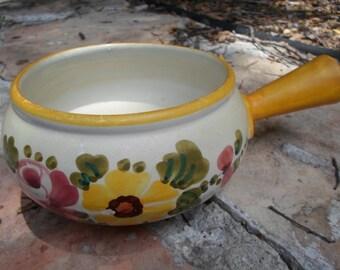 Lovely Italian Hand Painted Decorative Bowl