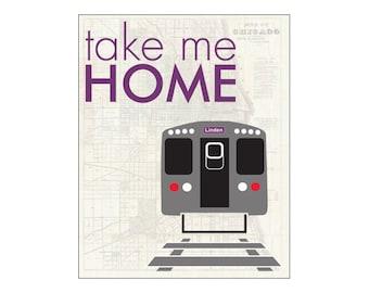 CTA Purple Line Train