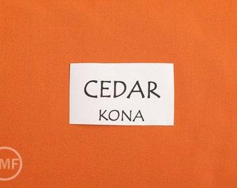 One Yard Cedar Kona Cotton Solid Fabric from Robert Kaufman, K001-443