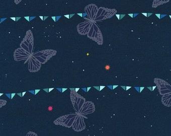 Moonlit Nightsky in Indigo, Rashida Coleman Hale, Cotton+Steel, RJR Fabrics, 100% Cotton Fabric, 1901-001