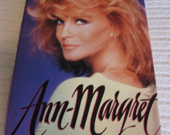 ANN MARGRET Signed Book by Actress Singer