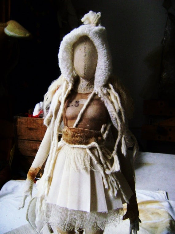 Art Doll. Sculpture of Valeria Dalmon. Only for commission.