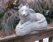 Husky Angel Hand cast Garden Memorial