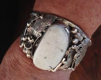 Sterling Silver American Indian Bracelet  lot 45