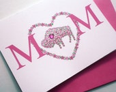 New Mom Card - Blossoming Buffalo