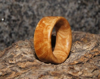 Olive Wood Ring Size 5