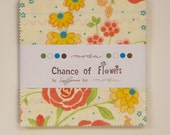 SALE - Chance of Flowers by Sandy Gervais for Moda - Charm Pack