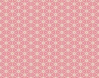 Sidewalks by October Afternoon for Riley Blake Designs - Geometric in Pink - 1/2 Yard