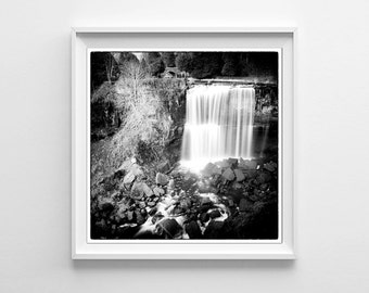 Waterfall photography hamilton ontario webster 39 s falls for 5x5 frames ikea