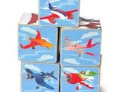 Planes Wooden Blocks