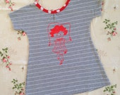 Skipping Girl Tee Dress Girls Sz 5 SALE