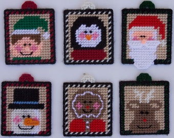 Fun Christmas Magnets/Ornaments