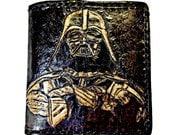 Star Wars Gift - Star Wars Wallet - Darth Vader - Geek Gift - Nerd Gift - Husband Gift - Geek Gift - Dad Gift. Holds 8 cards,has 1 bill slot