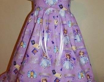 Boutique Disney PRINCESS SOPHIA The First - Girls Dress 6m 12m 18m 24m 2t 3t 4t 5t 6yr - SarahsRainbow