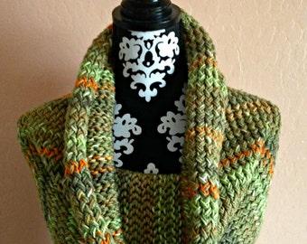 Outlander Inspired Cowl/Shoulder Shawl Loom Knit Pattern