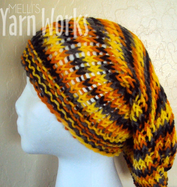 Candy Corn Slouchy Beret
