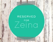 Reserved Listing for Zeina