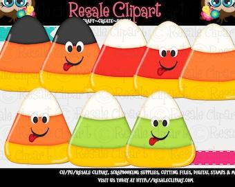 Halloween Candy Corn Cuties 1 Clipart (Digital Download ZIP)