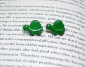 Turtle Button Earrings, Button Jewelry, Turtle Earrings, Animal Jewelry