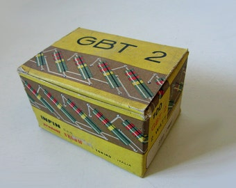 Vintage Resistance Box For Electronics Circuits