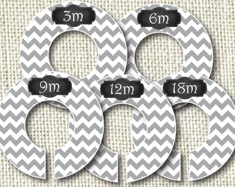 Baby Closet Dividers - Clothes Organizers Gray