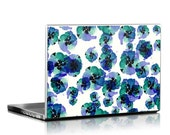 Blue Eye Flowers - Universal Laptop Skin