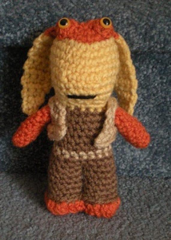 Amigurumi Small Ball Pattern : PDF File Crochet Pattern Hand crocheted Star Wars Jar by ...