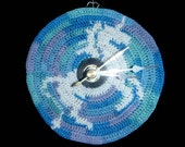 Crochet Unicorn Clock Face