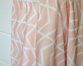 Crib Blanket Blush Chevron - Crib Blanket - Baby Blanket - Minky Blanket - Blush Baby Blanket - Pale Pink Crib Bedding -Chevron Baby Blanket