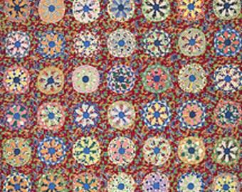 Franciscan Starburst Mid Century Atomic Modern Star Background