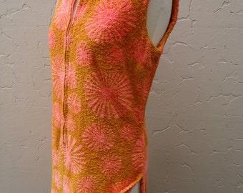 1960's Towelling Dress
