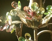 Chandelier Lighting, Faerie Spring, One of a Kind
