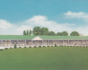 Reynolds, Indiana, Parkview Motel - Linen Postcard - Unused (I)
