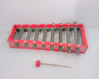 Mid Century Toy , Xylophone , Tudor Metal Products ,