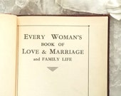 1930s Love and Marriage book