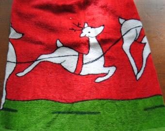 Christmas Deer Towel