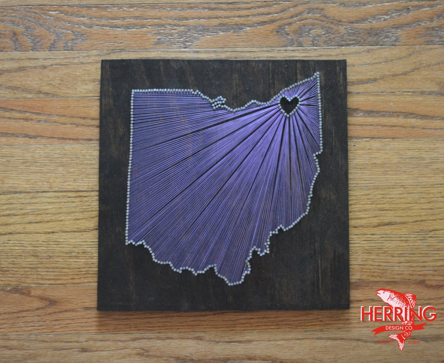 Nail Art Ideas state nail string art : Stained Ohio State String Art Cleveland Ohio Stained Nail