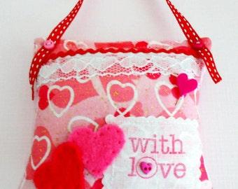 SALE  Valentine's scented Pincushion