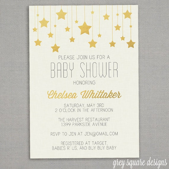 Etsy Baby Shower Invites and get inspiration to create nice invitation ideas