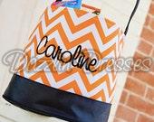 Halloween Bucket Just 20 dollars!!  Dazzlin' Dresses Custom Embroidered Halloween Basket Halloween Tote Halloween Bag