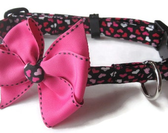 Valentine Dog Collar size Large