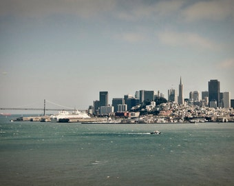 San Francisco skyline photo, San Francisco print, San Francisco canvas, Transamerica Pyramid, Bay Area photo, San Francisco photo