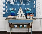 NEW INSTANT DOWNLOAD The Disney Frozen Movie Inspired Snowman Party Printable Party Collection Printable Pennant Banner